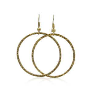 Callysta's Findings - Earrings Round Gold