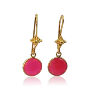 Callysta's Findings - Earrings Ruby Quartz