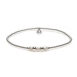 Karma Jewelry - Bali Bracelet Silver 92336