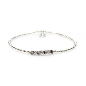 Karma Jewelry - Bali Bracelet Silver 92394