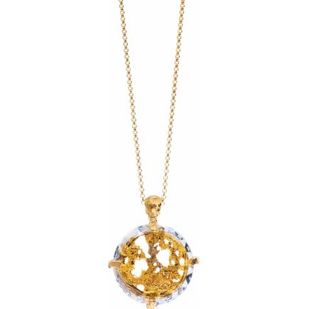 Motyle - Cosmic Love Sun Necklace MG2534