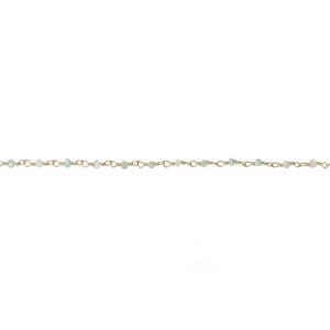 Une a Une - Bracelet Inde Aqua