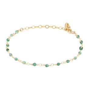 Une a Une - Bracelet Inde Emerald