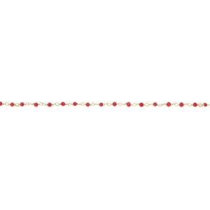 Une a Une - Bracelet Inde Red