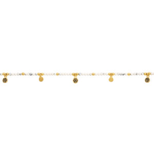 Une a Une - Bracelet Jaipur Fleur Howlite
