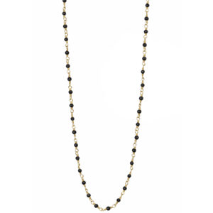 Une a Une - Necklace Inde Black Onyx