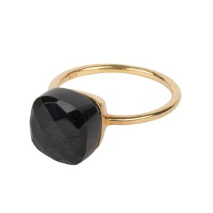 Une a Une - Ring Inde Black Onyx BIONY