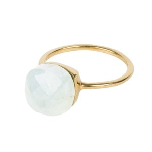 Une a Une - Ring Inde Moonstone BIPLB