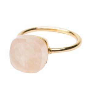 Une a Une - Ring Inde Rosequartz BIOR