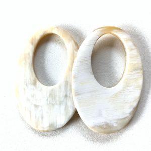 Bauer Basics - Buffalo Horn White Oval L