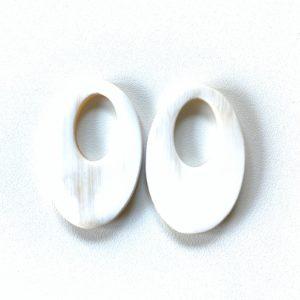 Bauer Basics - Buffalo Horn White Oval M
