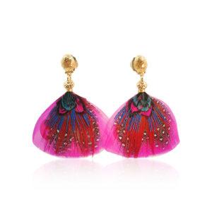 Gas Bijoux - Bermude Mini Earrings Fuchsia 2