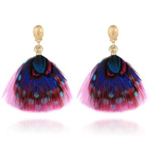 Gas Bijoux - Bermude Mini Earrings Fuchsia