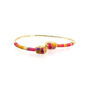 Gas Bijoux - Bracelet Duality Fuchsia