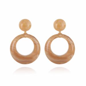 Gas Bijoux - Ischia Earrings Sand