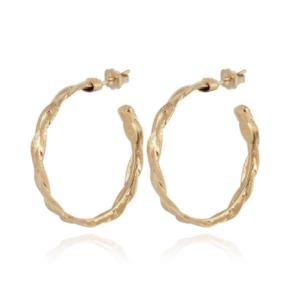 Gas Bijoux - Tresse Earrings Small Gold
