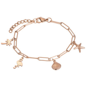Ixxxi - Bracelet Charms Rosegold