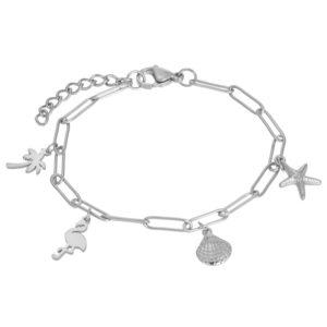 Ixxxi - Bracelet Charms Silver