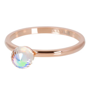 Ixxxi - Crystal Glass Ball AB Rosegold R04211