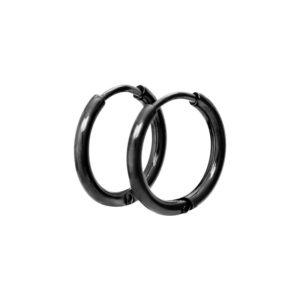Ixxxi - Earrings 15mm Black