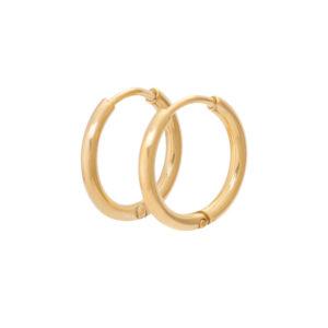Ixxxi - Earrings 15mm Gold
