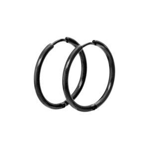 Ixxxi - Earrings 24mm Black