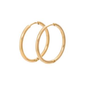 Ixxxi - Earrings 24mm Gold