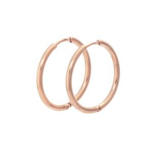 Ixxxi - Earrings 24mm Rosegold