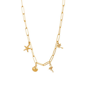 Ixxxi - Necklace Charms 40cm Gold