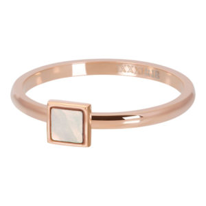 Ixxxi - Pink Shell Stone Square R04213