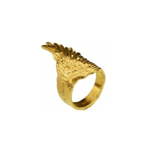 Motyle - Marble Clouds Ring Gold MCG5001