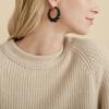 Gas Bijoux - Andy Hoop Earrings model