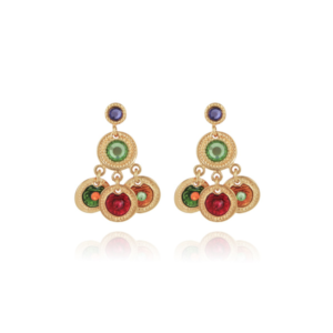 Gas Bijoux - Arlequin Earrings Multi