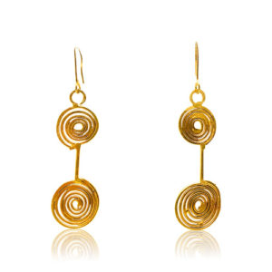 Zaz - Earrings Gold 02