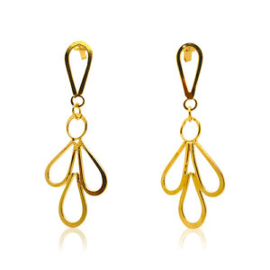 Zaz - Earrings Gold 03