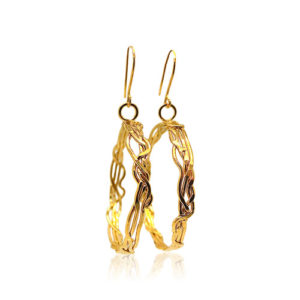 Zaz - Earrings Gold 04
