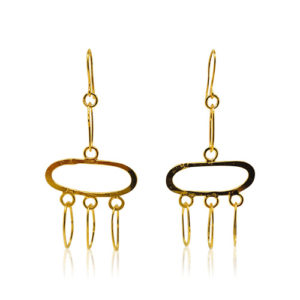 Zaz - Earrings Gold 06