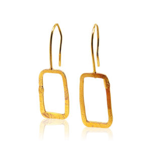 Zaz - Earrings Gold 07