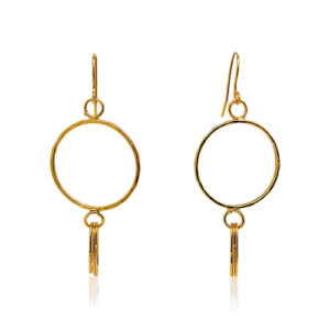Zaz - Earrings Gold 08
