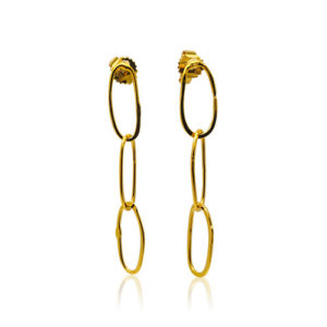 Zaz - Earrings Gold 09