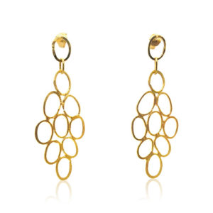 Zaz - Earrings Gold 12
