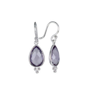 Coby van den Bor - Earrings Silver Amethyst 885