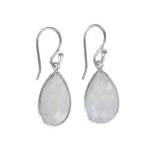 Coby van den Bor - Earrings Silver Moonstone 615
