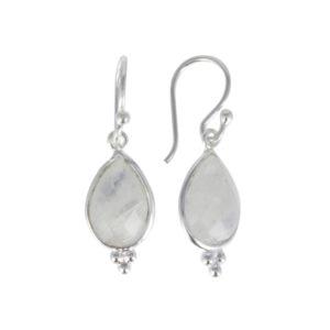 Coby van den Bor - Earrings Silver Moonstone 885