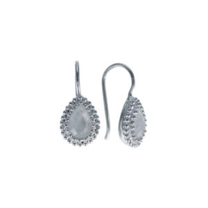 Coby van den Bor - Earrings Silver Moonstone 930