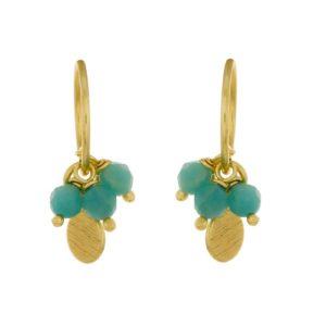 Muja Juma - Earrings Amazonite 1346GB5