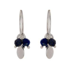 Muja Juma - Earrings Lapis Lazuli Beads 1346SB9