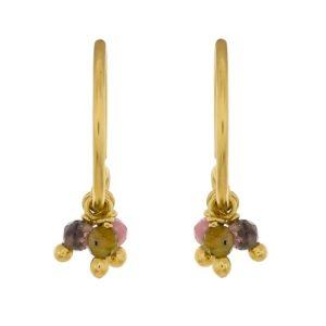 Muja Juma - Earrings Tourmaline 1347GB11