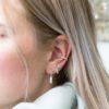 Muja Juma - model oorbellen