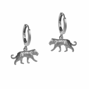 By Lauren Amsterdam - House Panther Hoops Silver